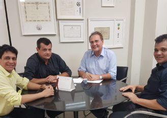 Com apoio de Renan, deputado Ricardo Nezinho debate projetos para o Sertão