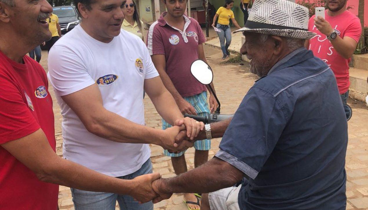 Ricardo Nezinho recebe mais apoio em Arapiraca