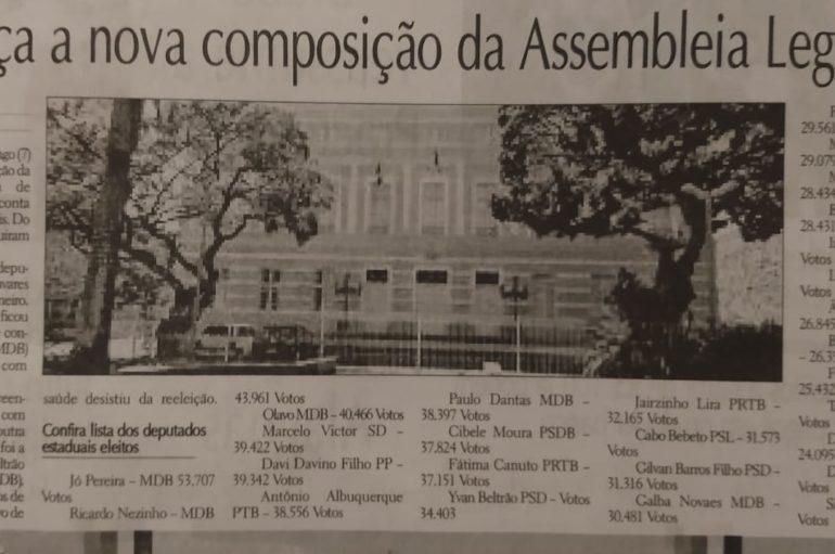 Conheça a nova composição da Assembléia Legislativa