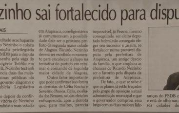 Ricardo Nezinho sai fortalecido para 2020