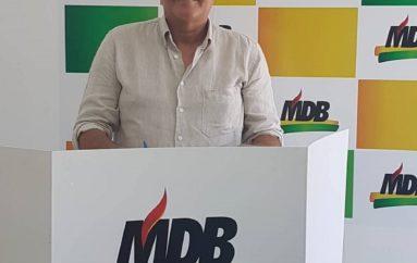Em convenção, MDB de Alagoas e mantém Renan Calheiros na presidência