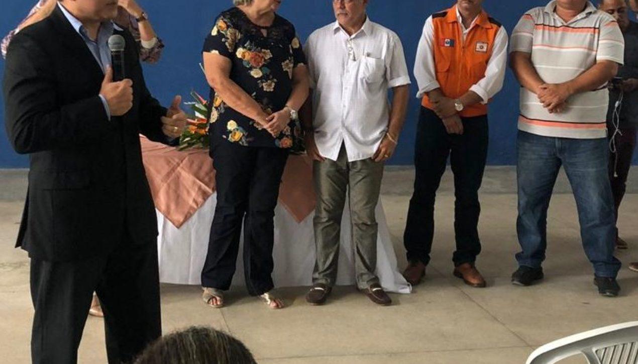 Ricardo Nezinho acompanha reunião com prefeita e Defesa Civil em Coqueiro Seco