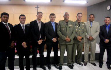 Deputado Ricardo Nezinho destaca trabalho de ex-comandantes do 3º BPM