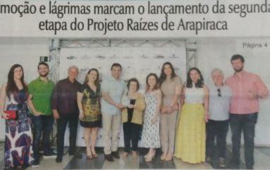 Emoção e lágrima da segunda etapa do Projeto Raízes de Arapiraca