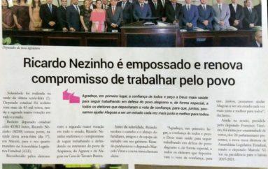 Ricardo Nezinho é empossado e renova compromisso pelo povo
