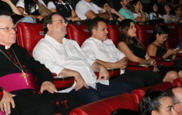 Luciano Barbosa prestigia lançamento de documentário histórico em Arapiraca