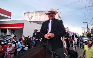Ricardo Nezinho participa de mais uma edição da Cavalgada de Nossa Senhora do Bom Conselho