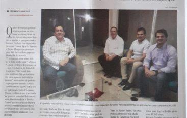 Festejos juninos e campanha eleitoral 2020 aproximam líderes da oposição em Arapiraca
