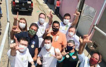 MMoradores do Bonsucesso aplaudem caravana e lembram obras realizadas por Luciano