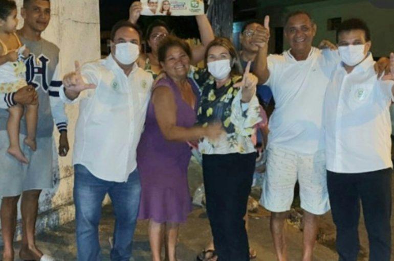 Luciano percorre mais de 60 ruas em caravanas pela cidade de Arapiraca