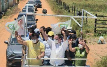 Moradores e lideranças de cinco comunidades abraçam candidatura de Luciano