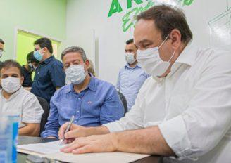 Arapiraca: Arthur Lira e Luciano Barbosa assinam ordens de serviços de R$ 44 milhões em obras