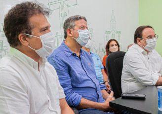 Ricardo Nezinho destaca amor de Luciano Barbosa pela cidade durante assinatura de ordem serviços para obras em Arapiraca