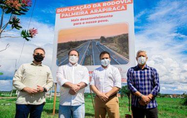 Deputado Ricardo Nezinho destaca importância da duplicação da rodovia AL-115