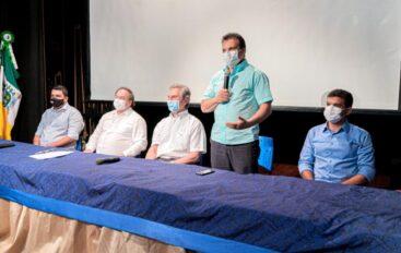 Deputado Ricardo Nezinho diz que investimentos no Lago da Perucaba vão atrair o turismo de negócios
