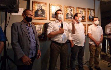 Raízes de Arapiraca: prefeito Luciano e deputado Ricardo Nezinho abrem exposição na Casa da Cultura